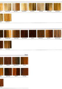 Rene of Paris Color Chart